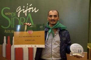entrega de premios Gijón de sidra 2011